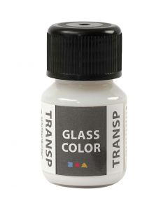 Glass Color Transparent, wit, 30 ml/ 1 fles