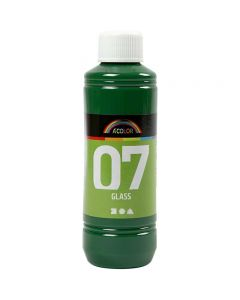 A-Color Glass, brilliant groen, 250 ml/ 1 fles