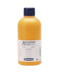 Schmincke AKADEMIE® Acryl color , transparant, indian yellow (226), 500 ml/ 1 fles