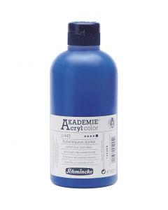 Schmincke AKADEMIE® Acryl color , dekkend, cobalt blue hue deep (443), 500 ml/ 1 fles