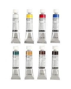 Schmincke AKADEMIE® Acryl color , 8x20 ml/ 1 doos