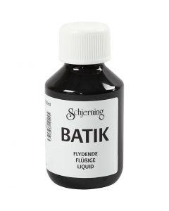 Batikverf, zwart, 100 ml/ 1 fles