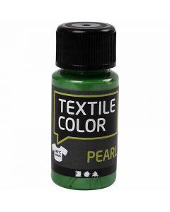 Textile Color, parelmoer, brilliant groen, 50 ml/ 1 fles