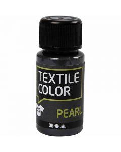 Textile Color, parelmoer, grijs, 50 ml/ 1 fles
