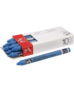 Neocolor II, L: 10 cm, cobalt blue (160), 10 stuk/ 1 doos
