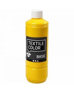 Textile Color, primair geel, 500 ml/ 1 fles