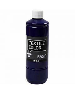 Textile Color, brilliant blauw, 500 ml/ 1 fles