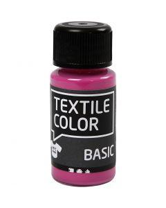 Textile Color, roze, 50 ml/ 1 fles