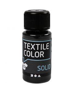 Textile Color, dekkend, zwart, 50 ml/ 1 fles