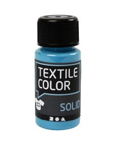 Textile Color, dekkend, turquoiseblauw, 50 ml/ 1 fles