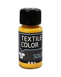 Textile Color, dekkend, geel, 50 ml/ 1 fles