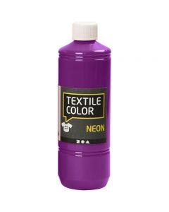 Textile Color, neonpaars, 500 ml/ 1 fles