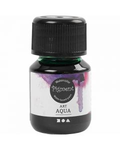 Vloeibare aquarelverf, groen, 30 ml/ 1 fles