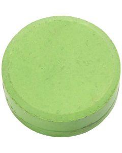 Waterverf, H: 16 mm, d: 44 mm, groen, 6 stuk/ 1 doos