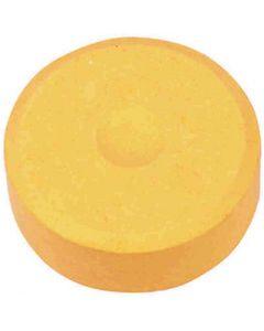 Waterverf, H: 16 mm, d: 44 mm, lichtoranje, 6 stuk/ 1 doos