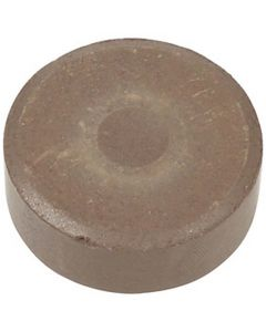 Waterverf, H: 19 mm, d: 57 mm, bruin, 6 stuk/ 1 doos