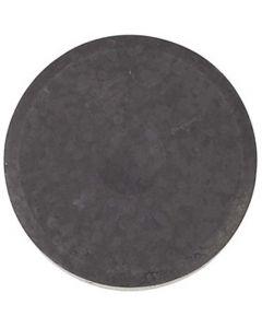 Waterverf, H: 19 mm, d: 57 mm, zwart, 6 stuk/ 1 doos