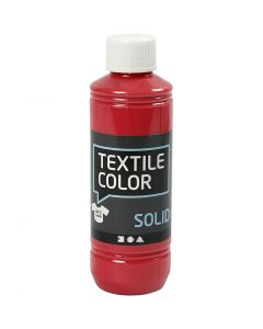 Textile Color, dekkend, rood, 250 ml/ 1 fles