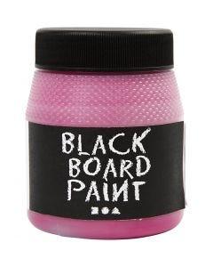 Schoolbordverf, roze, 250 ml/ 1 doos