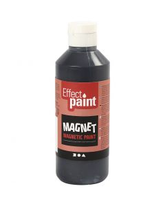 Magneetverf, zwart, 250 ml/ 1 fles
