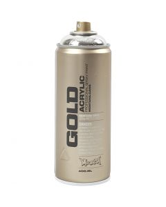 Spray verf, zilver, 400 ml/ 1 Doosje