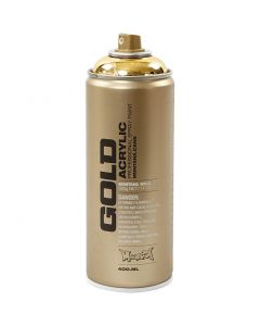 Spray verf, goud, 400 ml/ 1 Doosje