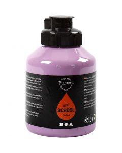 Pigment Art School, dekkend, paars, 500 ml/ 1 fles