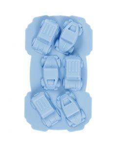 Silicone vormen, auto's , gatgrootte 30x45 mm, 12,5 ml, 1 stuk