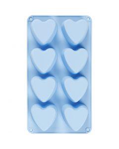 Silicone vormen, harten, H: 3,5 cm, L: 35 cm, B: 21 cm, gatgrootte 70x60 mm, 100 ml, 1 stuk