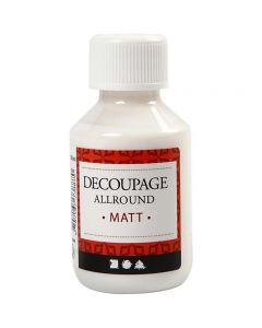 Decoupage lijmlak, matt, 100 ml/ 1 fles