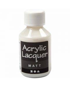 Vernis, matt, 100 ml/ 1 fles