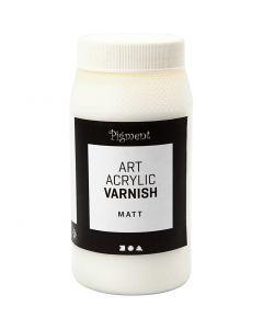 Art Acrylic vernis, matt, mat transparant, wit, 500 ml/ 1 Doosje