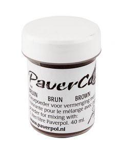 Paver Color, bruin, 40 ml/ 1 fles