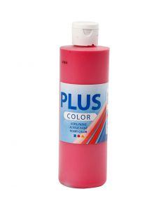 Plus Color acrylverf, primair rood, 250 ml/ 1 fles