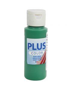 Plus Color acrylverf, brilliant groen, 60 ml/ 1 fles