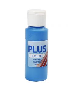 Plus Color acrylverf, primair blauw, 60 ml/ 1 fles