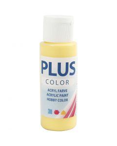 Plus Color acrylverf, primrose yellow, 60 ml/ 1 fles