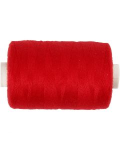 Naaigaren, L: 1000 yards, rood, 915 m/ 1 rol