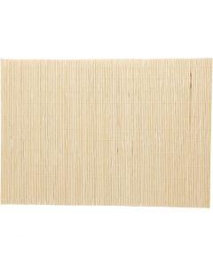 Bamboe mat voor vilten, afm 45x30 cm, 4 stuk/ 1 doos