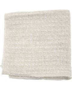 Stoffen doek, afm 40x40 cm, naturel, 20 stuk/ 1 doos