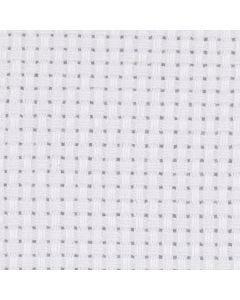 Aida, afm 50x50 cm, 43 vierkanten per 10 cm, wit, 1 stuk