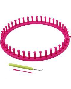 Knitting loom, d: 27 cm, 1 stuk