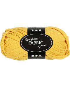 Spaghettigaren, L: 35 m, geel, 100 gr/ 1 bol