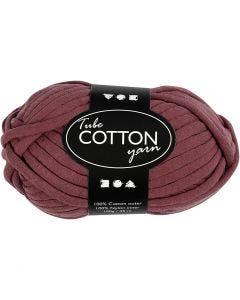Textielgaren, L: 45 m, paars, 100 gr/ 1 bol