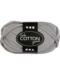 Textielgaren, L: 45 m, grijs, 100 gr/ 1 bol