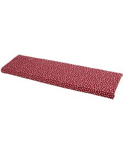 Stof, B: 145 cm, 140 gr, rood, 10 m/ 1 rol