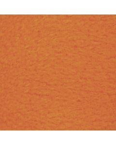 Fleece, L: 125 cm, B: 150 cm, 200 gr, oranje, 1 stuk
