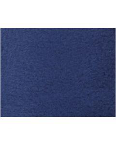 Fleece, L: 125 cm, B: 150 cm, 200 gr, blauw, 1 stuk