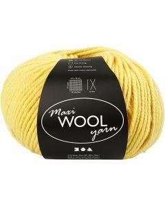 Wolgaren, L: 125 m, geel, 100 gr/ 1 bol