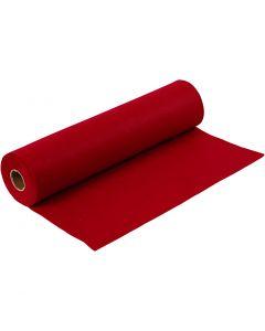 Hobbyvilt, B: 45 cm, dikte 1,5 mm, 180-200 gr, antiek rood, 5 m/ 1 rol
